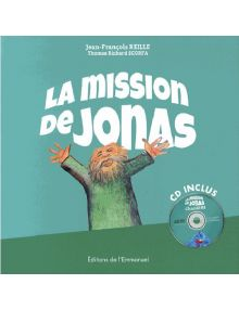 La mission de Jonas (livre + CD)