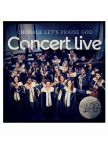 CD Concert Live Chorale Let's Praise God
