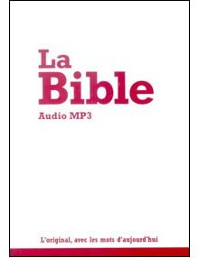 CD La Bible Audio MP3