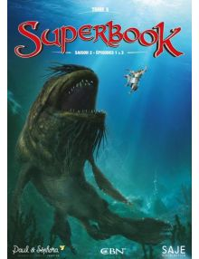 DVD Superbook Tome 5 Saison 2 épisode 1 à 3