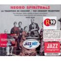CD Negro Spirituals la tradition de concert 1909-1948