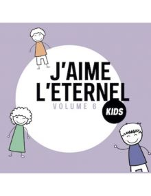 CD J'aime L'Eternel Kids volume 6