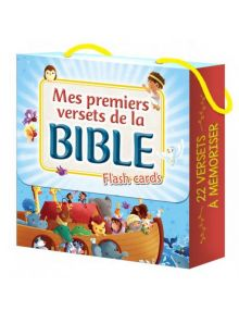 Mes premiers versets de la Bible, flash cards
