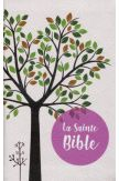 Sainte Bible Louis Segond 1910 tranche rose pâle