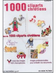 CD Rom 1000 cliparts chrétiens