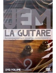 DVD JEM la guitare 2 - Accompagnement louange contemporaine