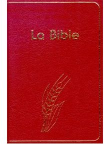 La Bible Semeur 2000 - rigide rouge