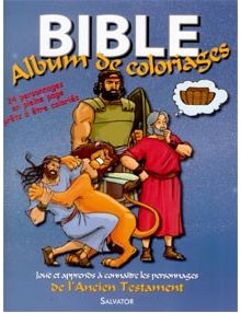 Bible Album de coloriages Ancien Testament