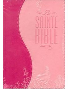 Bible Louis Segond 1910 duo rose ESA570