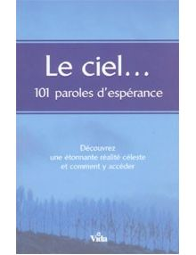 Le ciel... 101 paroles d'espérance