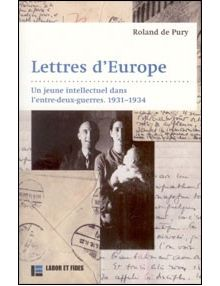 Lettres d'Europe 1931-1934