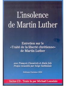 L'insolence de Martin Luther