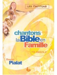 Partitions Chantons la Bible en famille