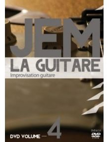 DVD JEM La guitare vol. 4 Improvisation guitare